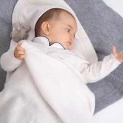 Louis blanket - Ivory