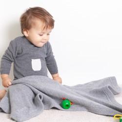 Louis blanket - Grey