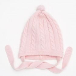 Torsade hat - Pink