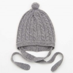 Torsade hat - Grey