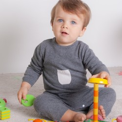 Babygrow - Grey