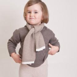 Chloé bi-color scarf - Beige