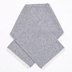 Chloé bi-color scarf - Grey