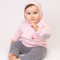 Hooded jumper - Pink