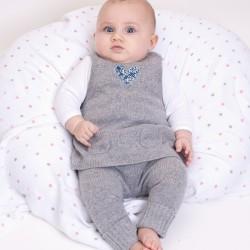 Amandine tunic dress - Grey