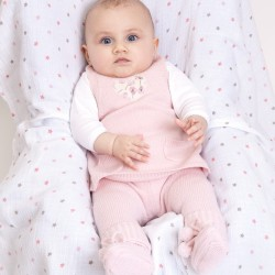 Amandine tunic dress - Pink