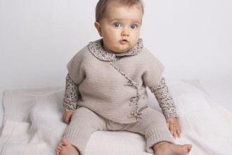 Cashmere Baby Girl Pants/Leggings by Les Tricots de Margot