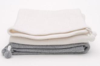 Cashmere Baby Blankets | Les Tricots de Margot Paris