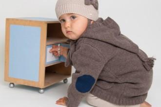 Cashmere Baby Coats and Jackets - Les Tricots de Margot Paris