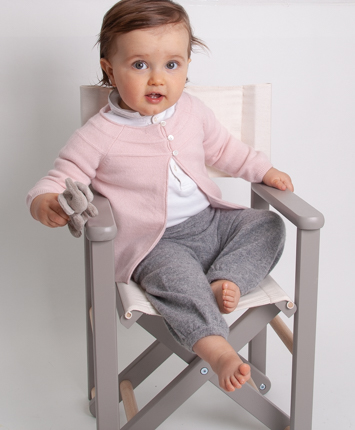 Blossom Look for girls 100% cashmere